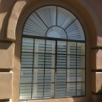 Arched Window Before by Sunscreens Solutions