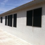 Arizona Home with New Sun Screens
