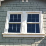 Craftsman Styled Windows Outdoor Sun Screens Before