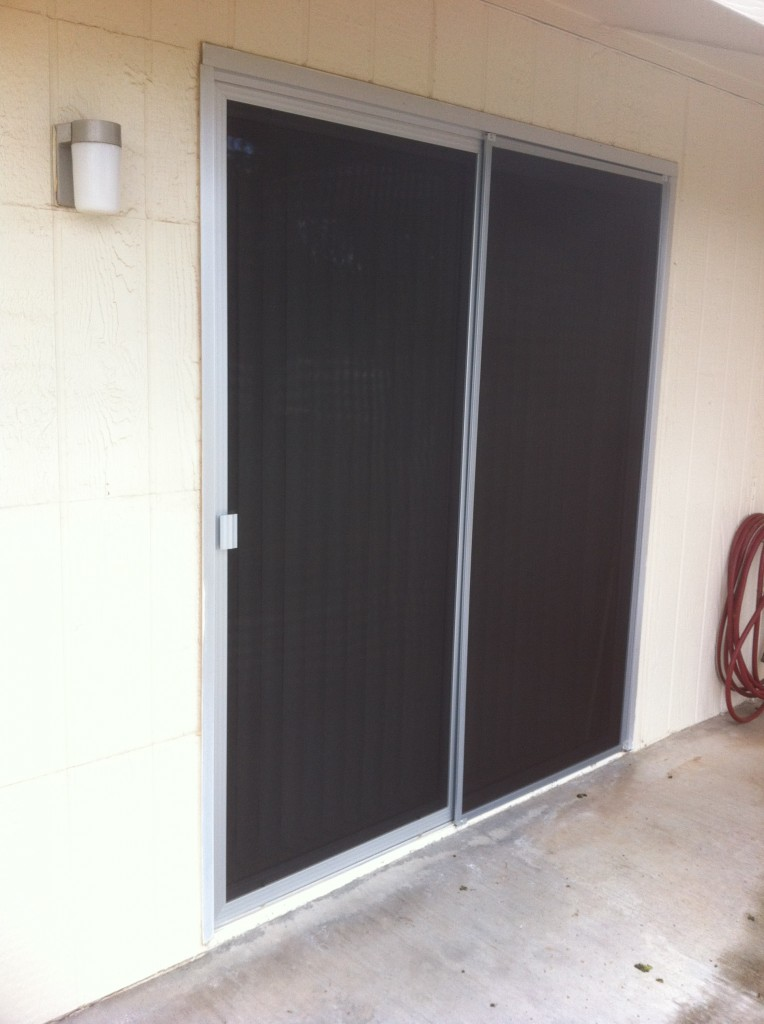 Patio Door After Screens