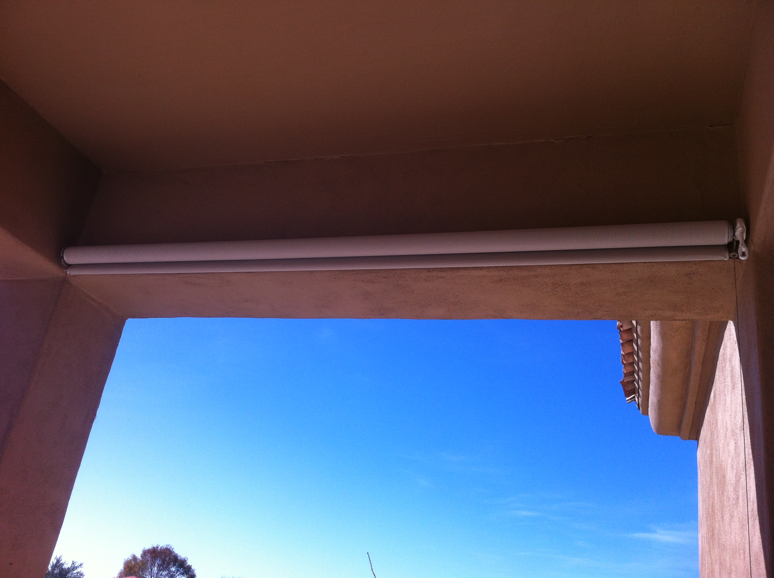 Outdoor Patio Shades Installed 1